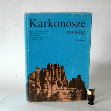 "Jahn A. (red). "" Karkonosze polskie"" 1985"