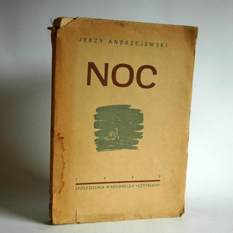 """Andrzejewski J. """"NOC"""" Warszawa 1948"""
