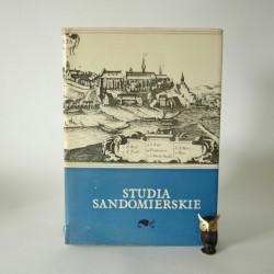 """""""Studia Sandomierskie - materiały do dziejów miasta Sandomierza"""" Łódź 1967"""