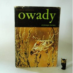 """Sandner H."""" Owady"""" Warszawa 1989"""