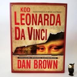 "Brown D. "" Kod Leonarda da Vinci "" Specjalne Wyd. Ilustrowane 2005"