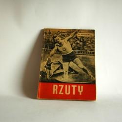 """Zakrzewski S. """"Rzuty"""" Warszawa 1949"""