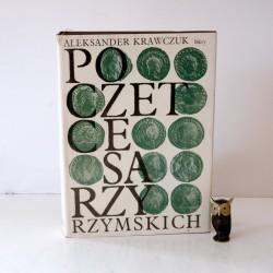 """Krawczuk A. """"Poczet Cesarzy Rzymskich"""" , Warszawa 1991"""