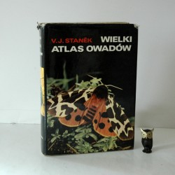 """Stanek V. J. """"Wielki atlas owadów"""" , Warszawa 1980"""