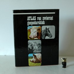 """Gabris J. """" Atlas ras zwierząt gospodarskich"""" Warszawa 1975"""