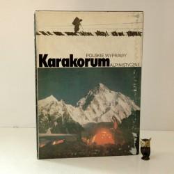 Karakorum - Polskie Wyprawy Alpinistyczne- Warszawa 1986