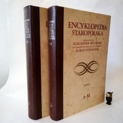 """Bruckner A. """" Encyklopedia Staropolska"""" T.I i II Warszawa 1990"""