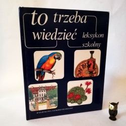 """Praca zbiorowa """"Leksykon szkolny -to trzeba wiedzieć"""" Warszawa 1994"""