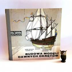 """Marjai I. Tamas K. """"Budowa modeli dawnych okrętów"""", Gdańsk 1970"""