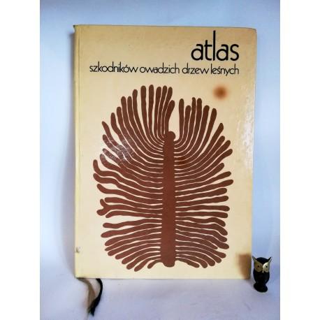 """Novak V. """" Atlas szkodników owadzich drzew leśnych"""" Warszawa 1975"""