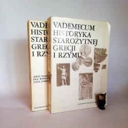 """Wipszycka E. (red.) """" Vademecum historyka Starożytnej Grecji i Rzymu"""" Komplet Tom I i II Warszawa 1982"""