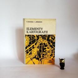"Osowski F. , Brokman L. "" Elementy kartografii "" Warszawa 1978"