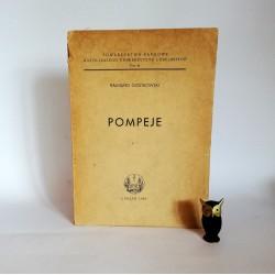 """Gostkowski R. """" Pompeje"""" Lublin 1954"""