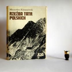 """Klimaszewski M. """" Rzeźba Tatr polskich"""" 1988"""