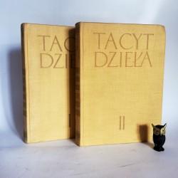 """Tacyt """" Dzieła"""" Tom I -II + MAPY Warszawa 1957"""