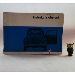 Instrukcja obsługi VW 1500, VW 1300, VW 1200 - VOLKSWAGEN GARBUS- 1969