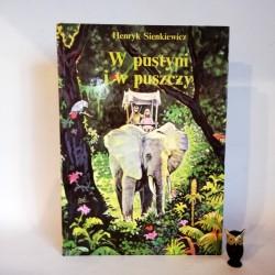 """Sienkiewicz H. """"W pustyni i w puszczy"""", Warszawa1992"""