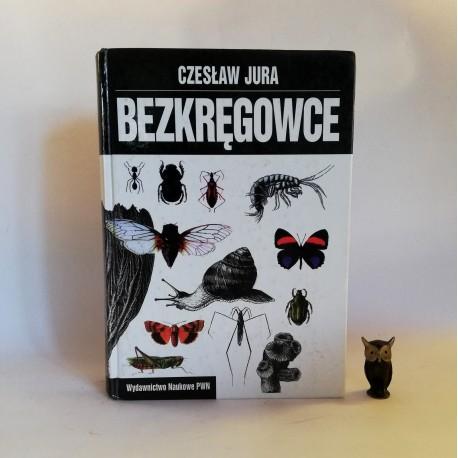 """Jura Czesław """" Bezkręgowce"""" Warszawa 1997"""