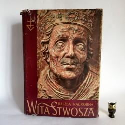 """Skubiszewski P. """"Rzeźba nagrobna Wita Stwosza"""" Warszawa 1957"""