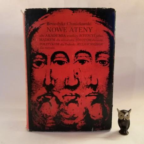 """Chmielowski B. """" Nowe Ateny """" Kraków 1966"""