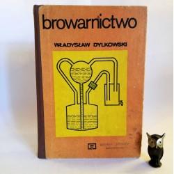 """Dylkowski W. """" Browarnictwo"""" Warszawa 1978 / Pieczęć Browar Bielsko"""