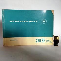 Instrukcja obsługi Mercedes Benz 280 SE Coupe Convertible 1968 - Ovner's Manual