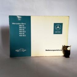 Instrukcja Obsługi Mercedes Benz 280, 350, 450, SL, SLC 1976 - Bedienungsanleitung