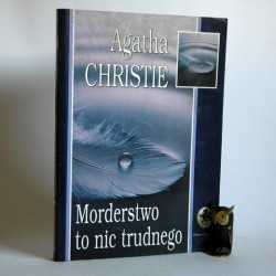 """Christie A. """" MOrderstwo to nic trudnego"""" Warszawa 1998"""