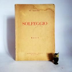 "Kazuro S."" Solfeggio"" Warszawa 1948"