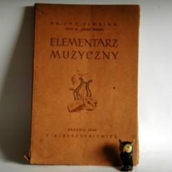"""Dembina J. """"Elementarz muzyczny"""" Kraków 1944"""