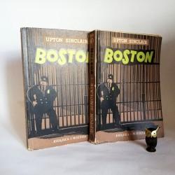 "Sinclar U. "" Boston"" Tom I -II Warszawa 1949"