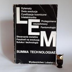 """Lem S. """" Summa Technologiae"""" Lublin 1984"""