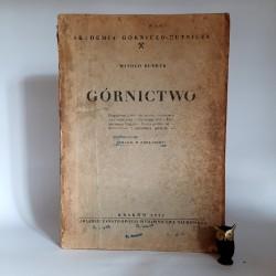 """Budryk W. """" GÓRNICTWO """" Kraków 1952"""