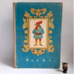"Fontaine J. "" Bajki"" Warszawa 1959 ilustracje HA -GA"