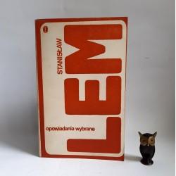 """Lem S. """" Opowiadania Wybrane """" Kraków 1975"""