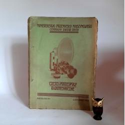 """"""" Części i podzespoły radiotechniczne """" Listopad 1952"""