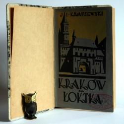 """Kraszewski J.I. """"Kraków za Łokietka"""" Warszawa 1929"""