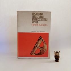 """Klengel H. """" Historia i kultura Starożytnej Syrii """" Warszawa 1971"""
