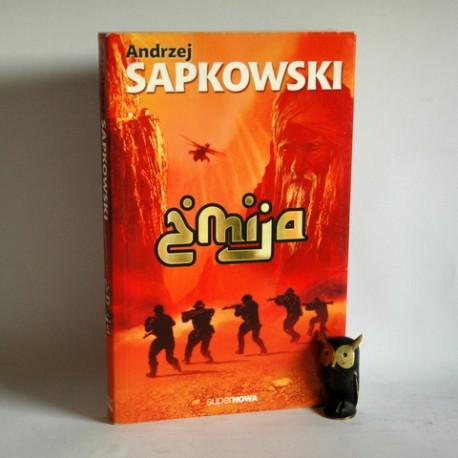 """Sapkowski A. """" Żmija"""" Warszawa 2009"""