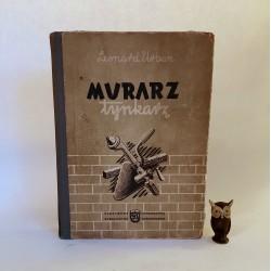 "Urban L. "" Murarz, tynkarz "" Warszawa 1959"