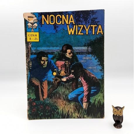 Kapitan Żbik - Nocna wizyta - 1972 Wyd. I