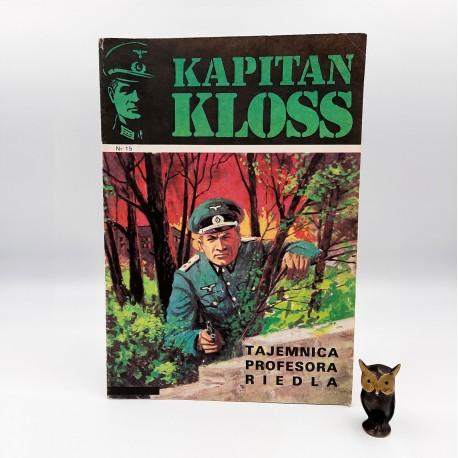 Kapitan Kloss - nr 15 - Tajemnica profesora Ridela - 1988 Wyd. II