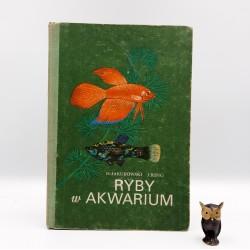"""Jakubowski H. , Ring J. """" Ryby w akwarium """" Warszawa 1983"""