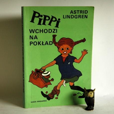 """Lindgren A. """" Pippi wchodzi na pokład"""" Warszawa 1992"""