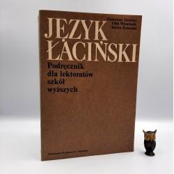 """Jurewicz O. """" Język Łaciński """" Warszawa 1978"""