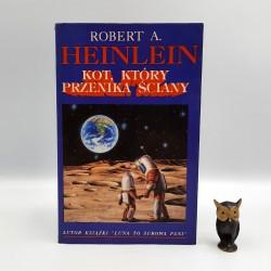 """Heinlein R.A. """" Kot, który przenika ściany """" Poznań 1993"""