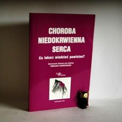 """Dłużniewski M. """" Choroba Niedokrwienna serca"""" Warszawa 1988"""