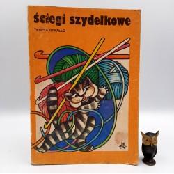 """Otkałło T. """" Ściegi szydełkowe """" Warszawa 1983"""