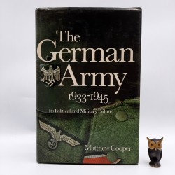 """Cooper M. """" The German Army 1933 -1945 """""""