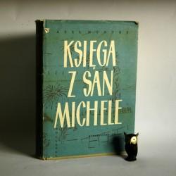 "Munthe A."" Księga z San Michele"" Katowice 1962"